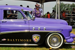 Baltimore Ravens Parade Car