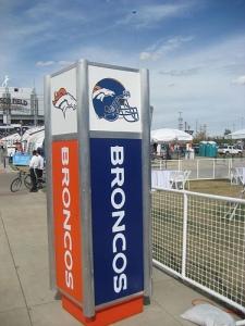 Denver Broncos Stand
