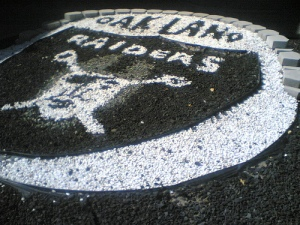 Oakland Raiders gravel