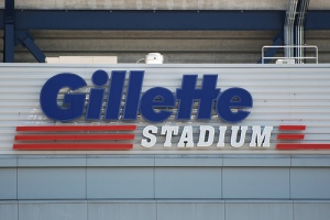 Gillette Stadium Sign