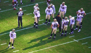 New Orleans Saints timeout